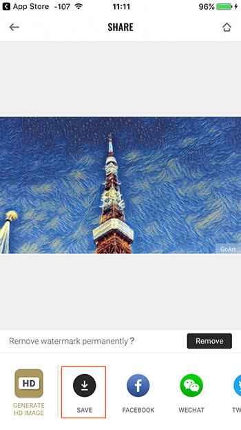写真加工アプリGoArt|おしゃれアート画像を無料で簡単に!