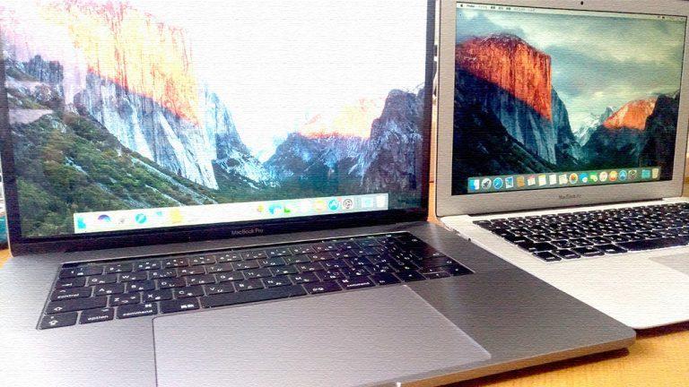 MacBook Pro 2017 15inchレビュー!MacBook Air 2011からの乗り換えで驚きの連続
